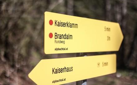 Kaiserklamm in Brandenberg