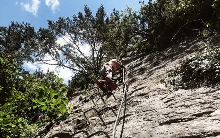 Klettersteig Zimmereben Zillertal