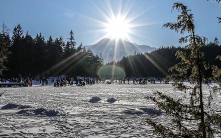 Seefeld im Winter