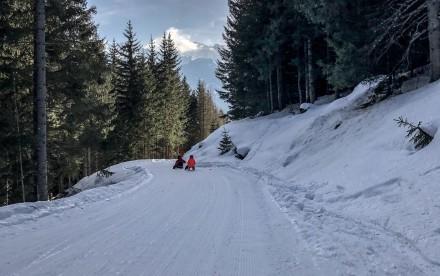 Winter auf der Bergeralm